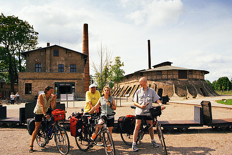Industrial heritage at the Brickworks park Mildenberg