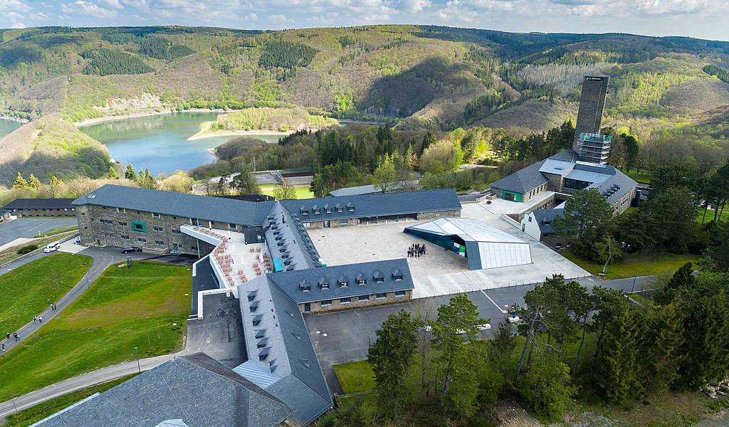 Vogelsang IP, einst Schulungsstätte des Nationalsozialismus, ist heute Ausstellungs- und Bildungszentrum.