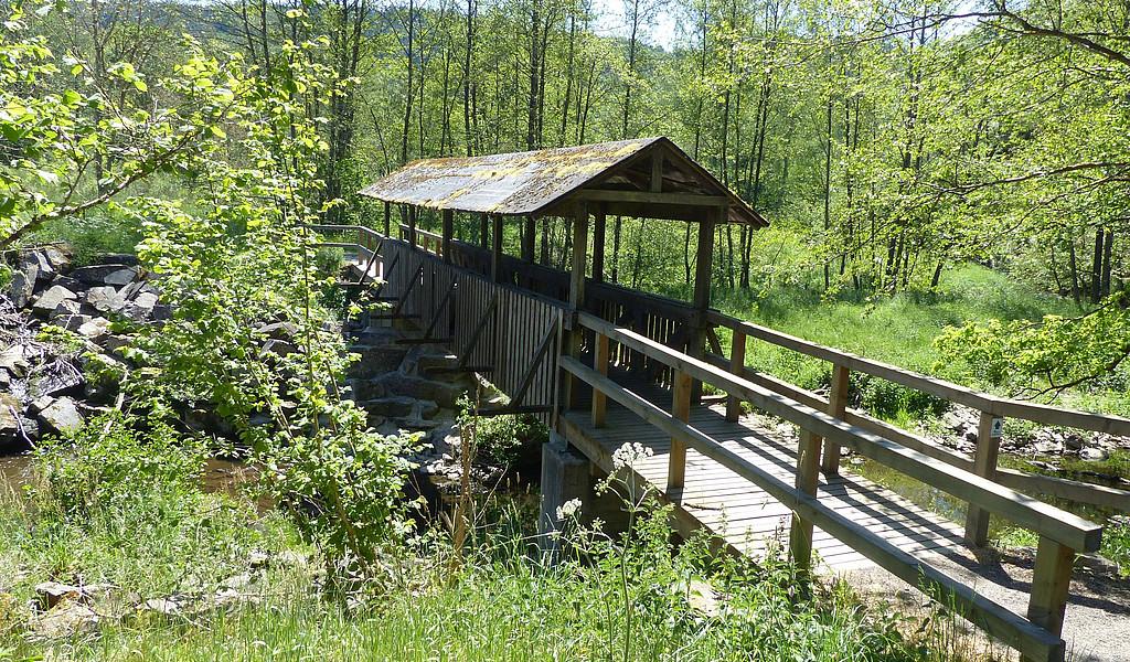 Brücke am Stausee Irrhausen