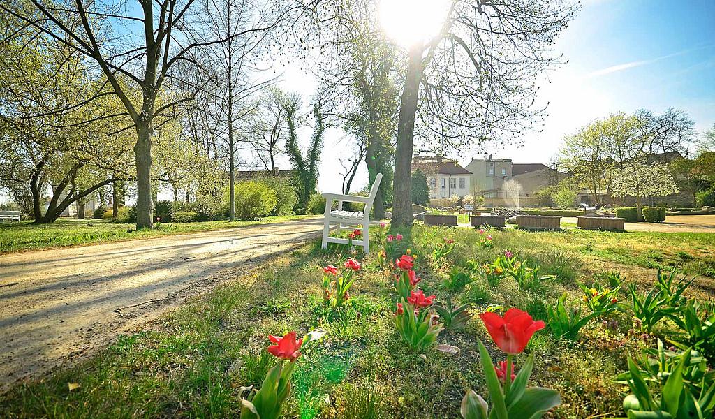 Schlosspark Oranienburg im Ruppiner Seenland