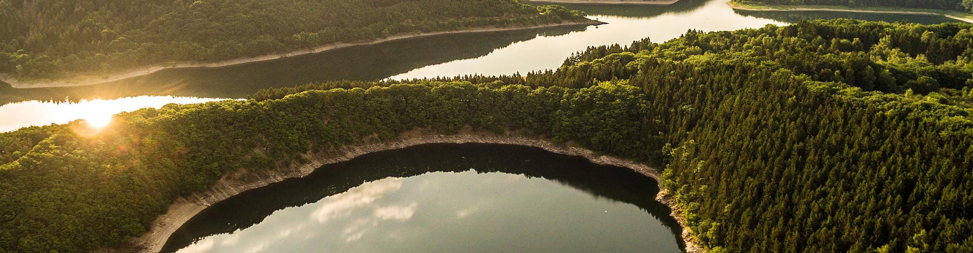 Urttalsperre - Talsperrenlandschaft im und um den Nationalpark Eifel