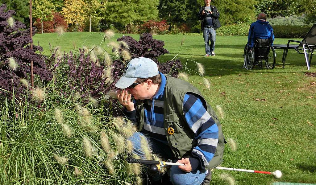 Der Park der Gärten in Bad Zwischenahn hat sich ganz auf Menschen mit Handicap eingestellt.