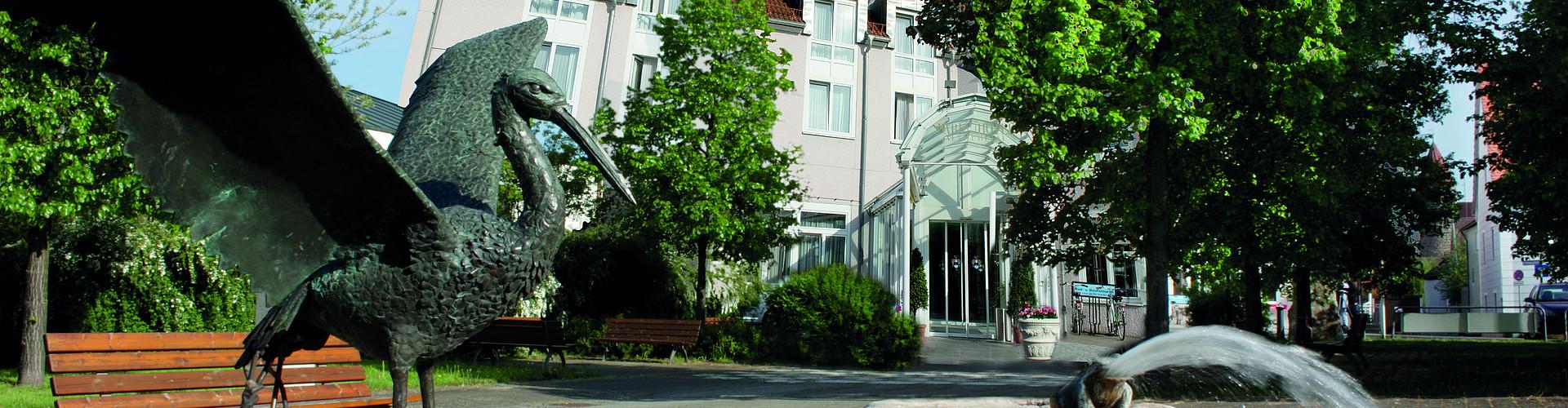 Eingang Parkhotel Altmühltal